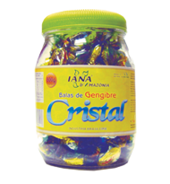 Bala de Gengibre Cristal 800g