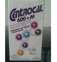 Centrocal 600 M c/60 comprimidos
