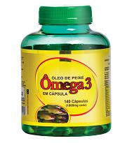 Óleo de Peixe Ômega 3 1000 mg 140 caps